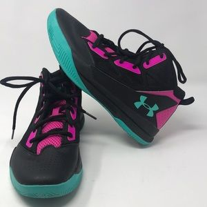 Under Armour Hi-Top Sneakers-Like New Gently Used